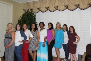 Photo: (Left to Right) Michelle Beeson, BRC member; Dana Clement, FBJSL President; Audra O'Neal, BRC member; Kavita Self, BRC member; Markisha Venzant-Sampson, BRC member; Tanya Pal, BRC Chair; Becky Zachary, BRC member; Laura Taylor, FBJSL President-Elect; and Mary Lovely, BRC member.