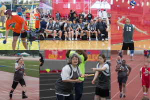 Athletes with The Arc of Fort Bend compete in the Special Olympics.